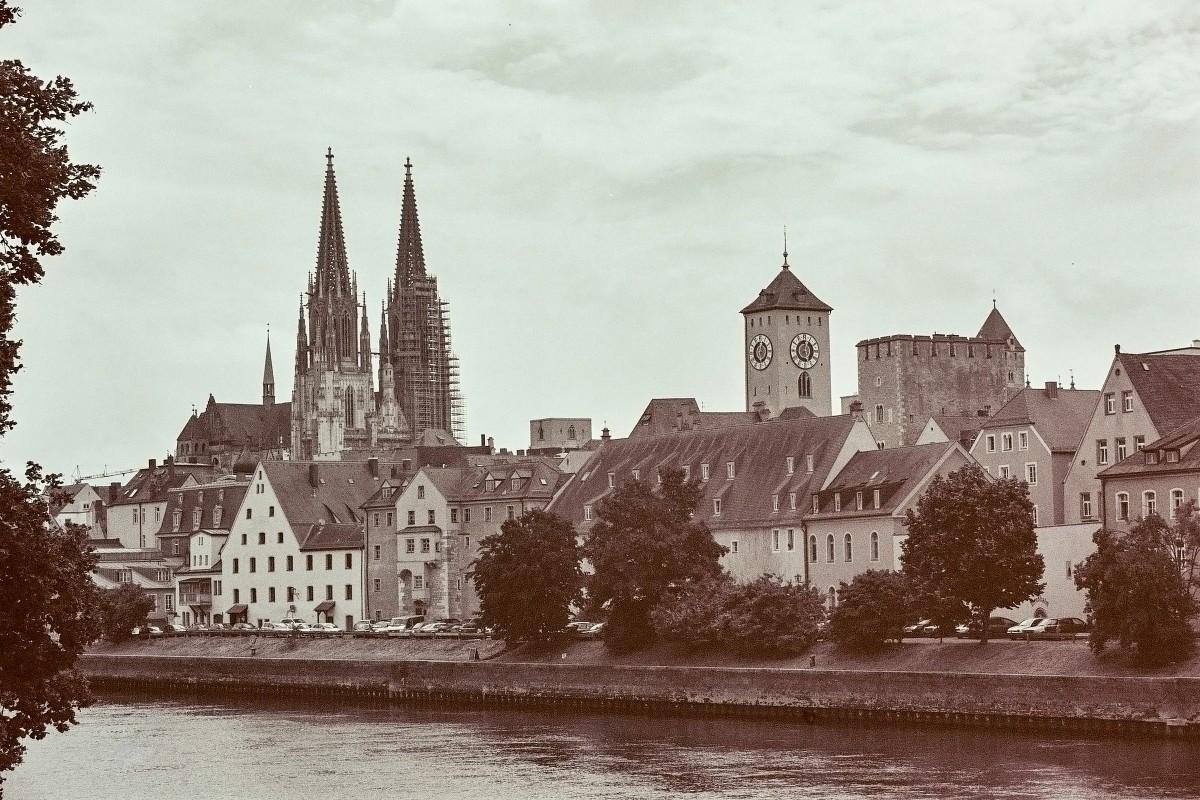 Altstadt an der Donau